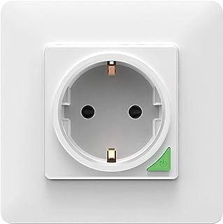 PROCOT SMART Socket - Vägguttag / Smart WiFi Recessed Power Socket - Works with Alexa, Google Home, Apple Siri Apple Siri...