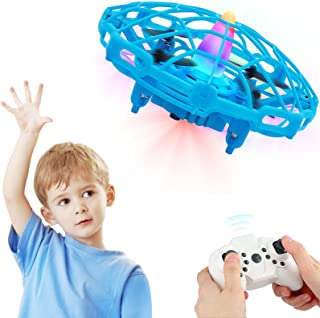 Mini Drone for Kids Beginners RC Helicopter Quadcopter with Auto Hovering, Neno Light, 3D Flip, 3 Speeds, Headless Mode, R...