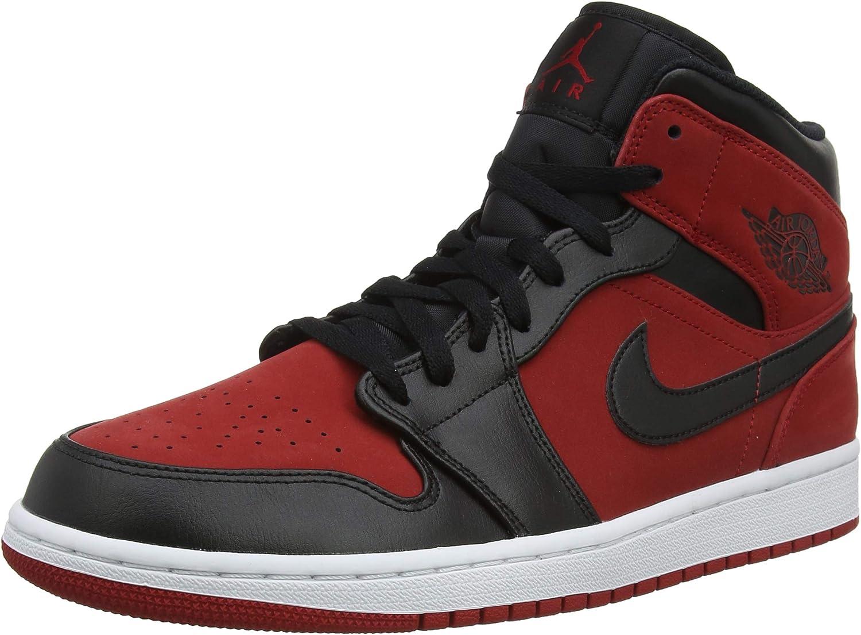 Nike Herren Air Jordan 1 Mid Basketballschuhe B07CZ63T7M  | Große Ausverkauf