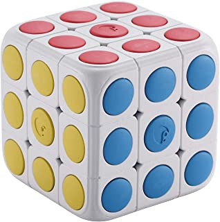Rubik Cube toy Incorporated with AR technology Cube Tastic 3x3 Puzzle Cube with Free IOS Android App Brain Teaser Toy for ...