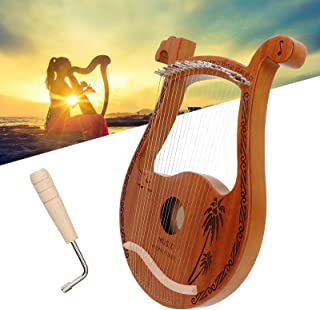 Harp, High Hardness Lyre Harp, Durable for Kids Friends Adults Beginners