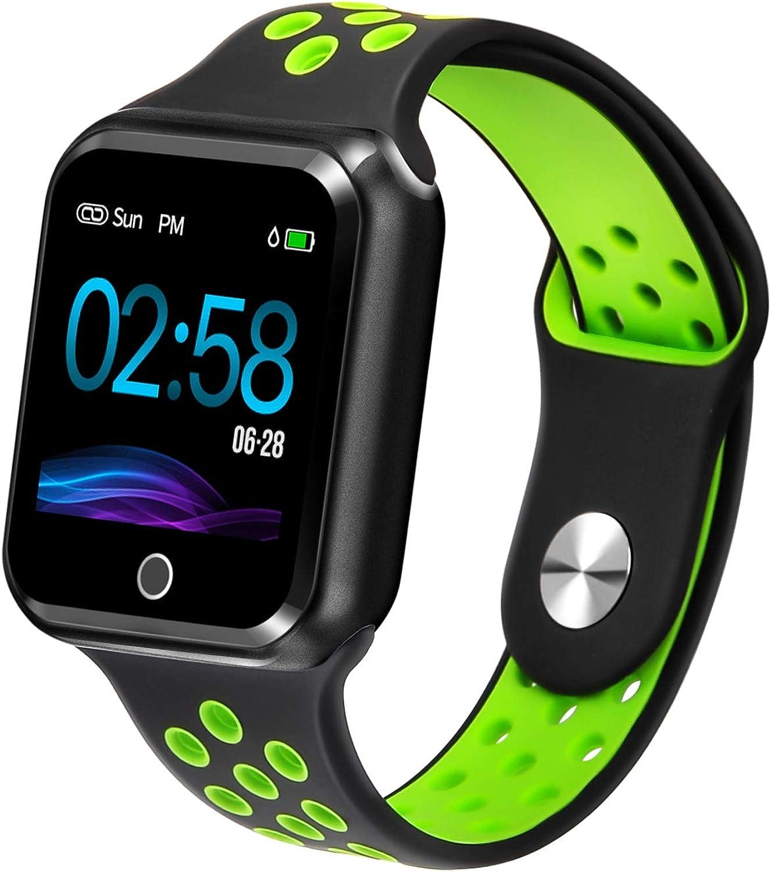 Fitness Tracker Waterproof Sports Watch blueeetooth Smart Bracelet Heart Rate Blood Pressure Sleep Calorie Pedometer