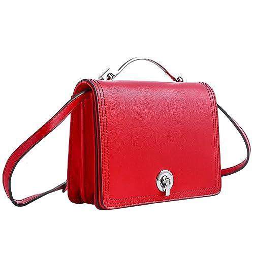 Graffiti Art Inspired Love Crossbody Handbag Red-multi