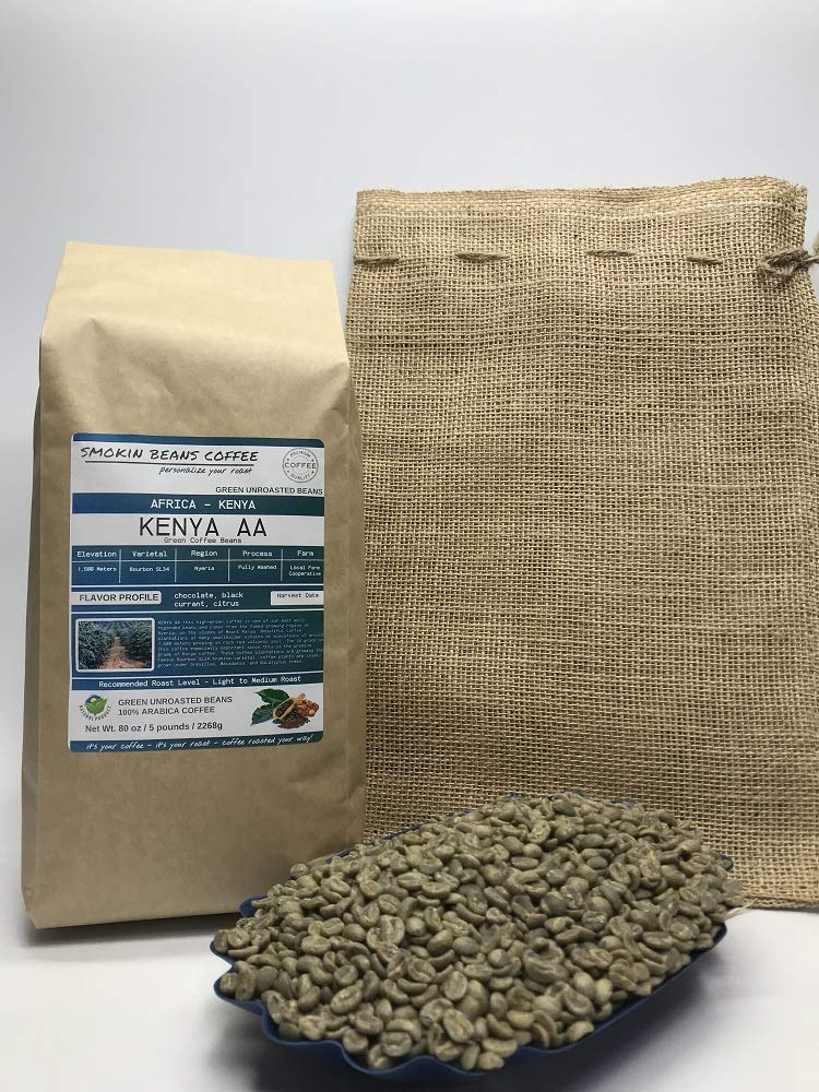 Portland Mall 5 Pounds – Northern Africa Unroasted Ar Kenya Max 58% OFF
