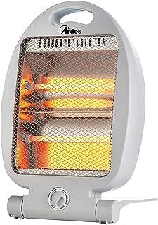 Ardes 435B - Calefactor (Calentador de cuarzo, Cristal de cuarzo, Interior, Blanco, 800 W, 400 W)