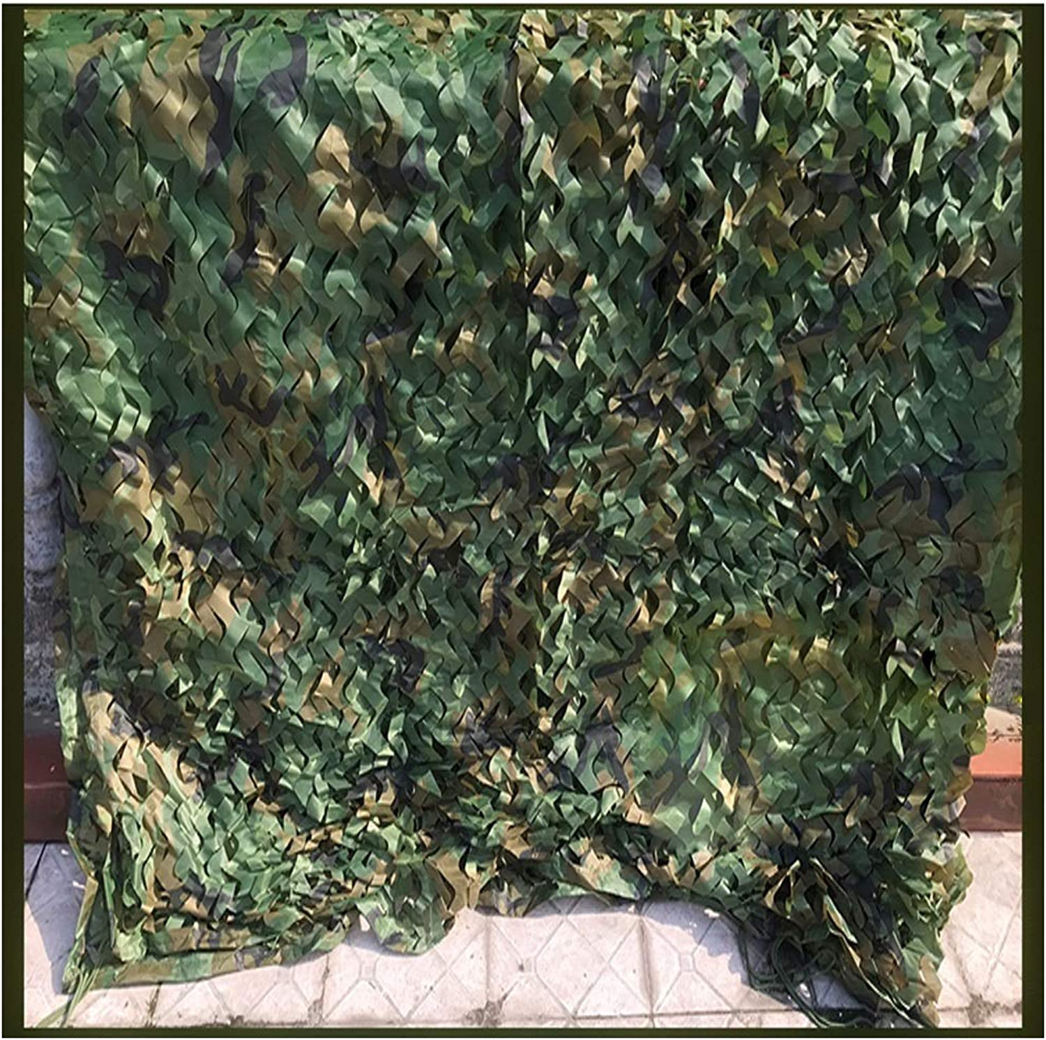 Camouflage Net Camo Netting Oxford Fabric Hunting Kids blueee Poles White Military Netting Hanging Decoration Outdoor Camouflage Net for Camping 4x10m,6x8m,5x10m,6x10m,7x10m,8x10m,9x10m,10x10m Carl Artb
