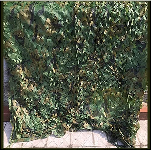 Carl Artbay Bache de Tente Filet de Camouflage Militaire Vert Jungle Oxford Tissu De Chasse Filet Sac Tente Champ De Tir Filet De Camouflage Filet de Camouflage Camouflage (Taille   5x10m)