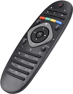 SANON Universele vervangende tv afstandsbediening controller voor Phi-Lips TV zwart