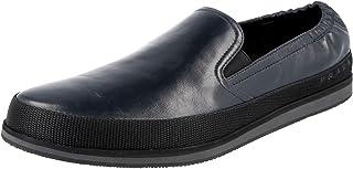 Prada Men's 4D2363 OZ7 F0216 Leather Espadrilles