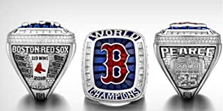 crystal 1st store BT N 2018 red Sox Championship Ring Size 8-14