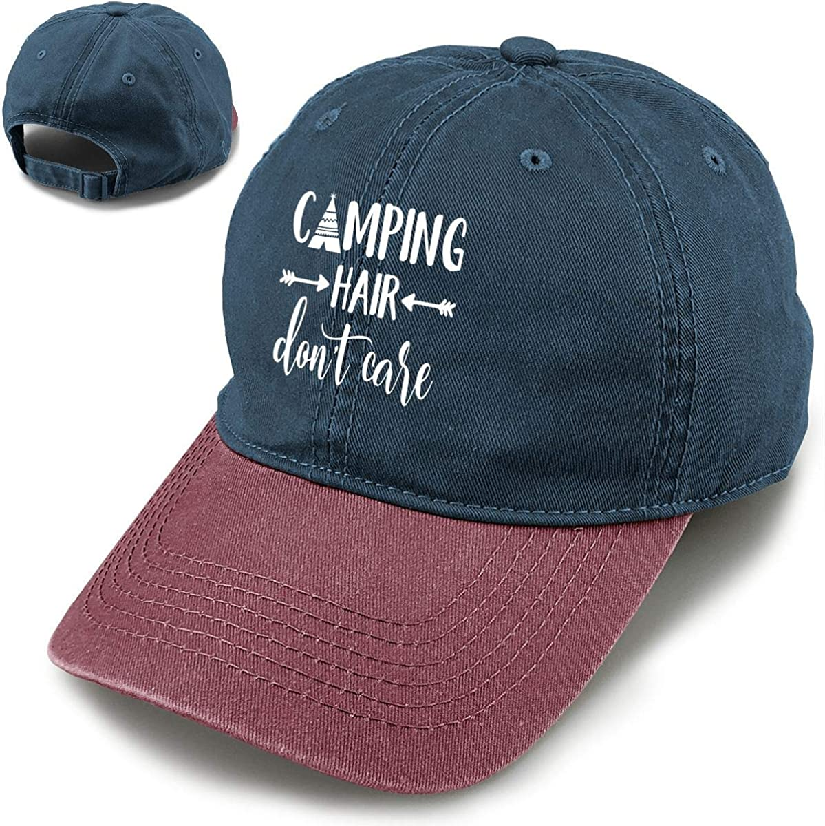 Splash Brothers Customized Unisex Camping Vintag Shipping included Quality inspection Don't Care Hair