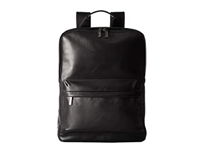 KNOMO London Barbican Brackley Laptop Backpack (Black) Backpack Bags