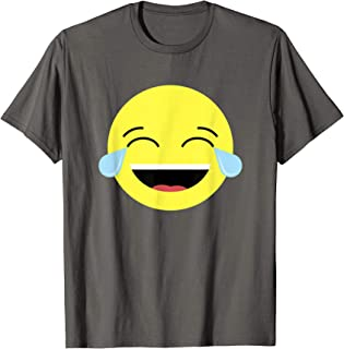 Laughing Tears Emojis Shirt | Cute Happy Laugh Face Tee Gift
