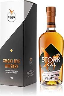 STORK CLUB Smoky Rye Whiskey 1 x 0,5 l – Deutscher Roggen-Whiskey mit 50% vol.