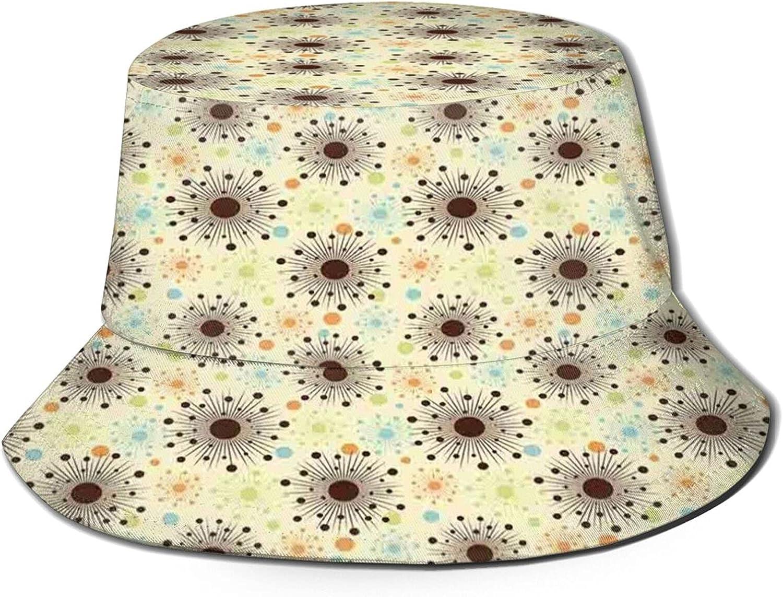Packable Reversible Black Alternative dealer Max 87% OFF Printed Fisherman Hat Sun Bucket S