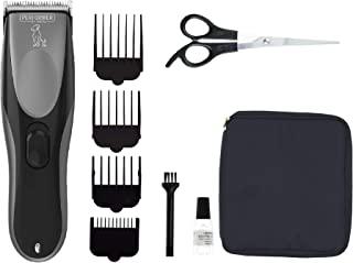 Performer by Wahl Dog Clippers, Cordless Dog Grooming Kit, Low Noise Dog Grooming Clippers