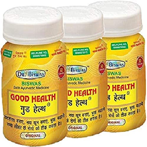 Dr Biswas Good Health Ayurvedic Capsules Pack of 3 50X3