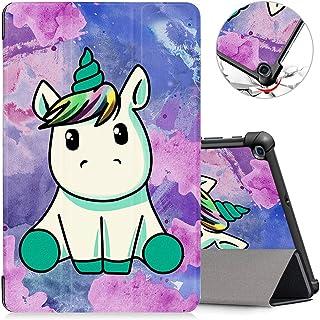 ZhuoFan Funda Samsung Galaxy Tab A 10.1 2019, Case Cuero PU Silicona Magnetica Función de Soporte y Auto-Desbloquear Cover...