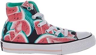 Converse Kids Chuck Taylor All Star Hi - Pink/Green Glow/White - Kids - 11.5