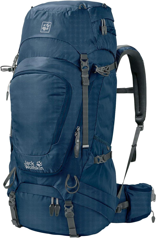 Jack Wolfskin Highland Trail XT 50 Wandern Outdoor Trekking Rucksack, Poseidon Blau, ONE Größe