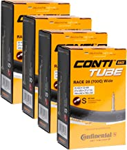 Continental Tubes 700x25-32 presta valve 42mm, Pack of 4
