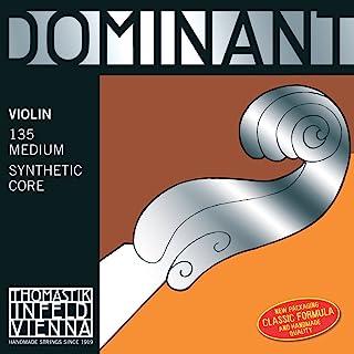 Thomastik corde per violino Dominant Nylonkern Mi allum. 3/4;