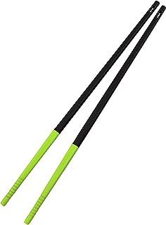 パール金属 菜箸 箸 シリコーン チョップ スティック ブラック×グリーン 日本製 ベジライブ CC-1090