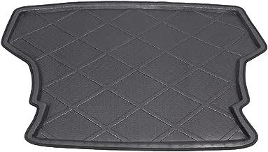 Mallofusa Cargo Liner Rear Cargo Tray Trunk Floor Mat Compatible for Toyota Yaris Vios Belta Limo 2007 2008 2009 2010 2011 2012 2013 Black