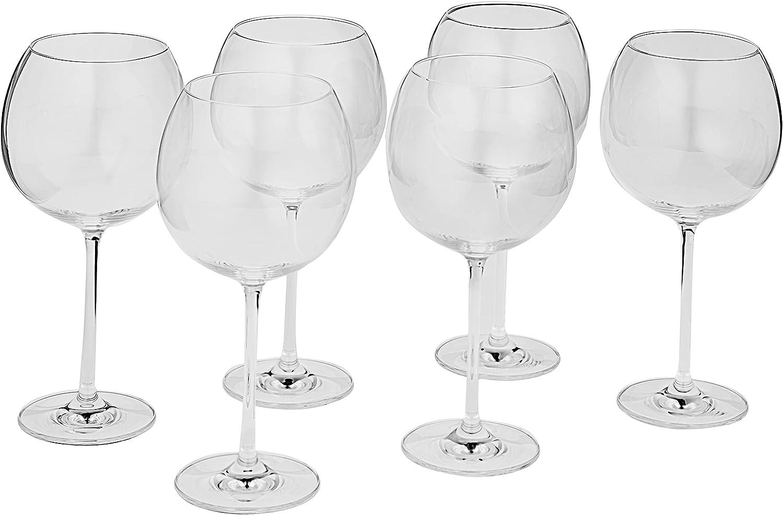 Schott Zwiesel Tritan Crystal Brand Cheap Sale Venue Note Stemware Manufacturer OFFicial shop Wine of 6 Set G Red