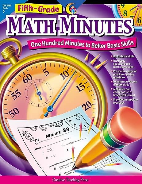 Math Minutes 5th Grade CTP 2587