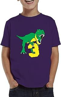 SpiritForged Apparel Dinosaur 3 Year Old Toddler T-Shirt