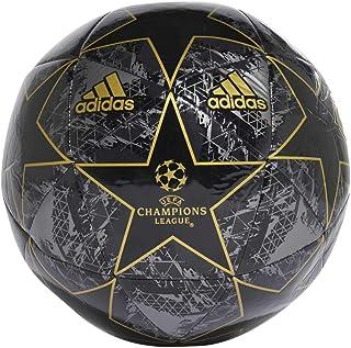 adidas Balón Fútbol Finale 19 Capitano, Color Negro/Oro
