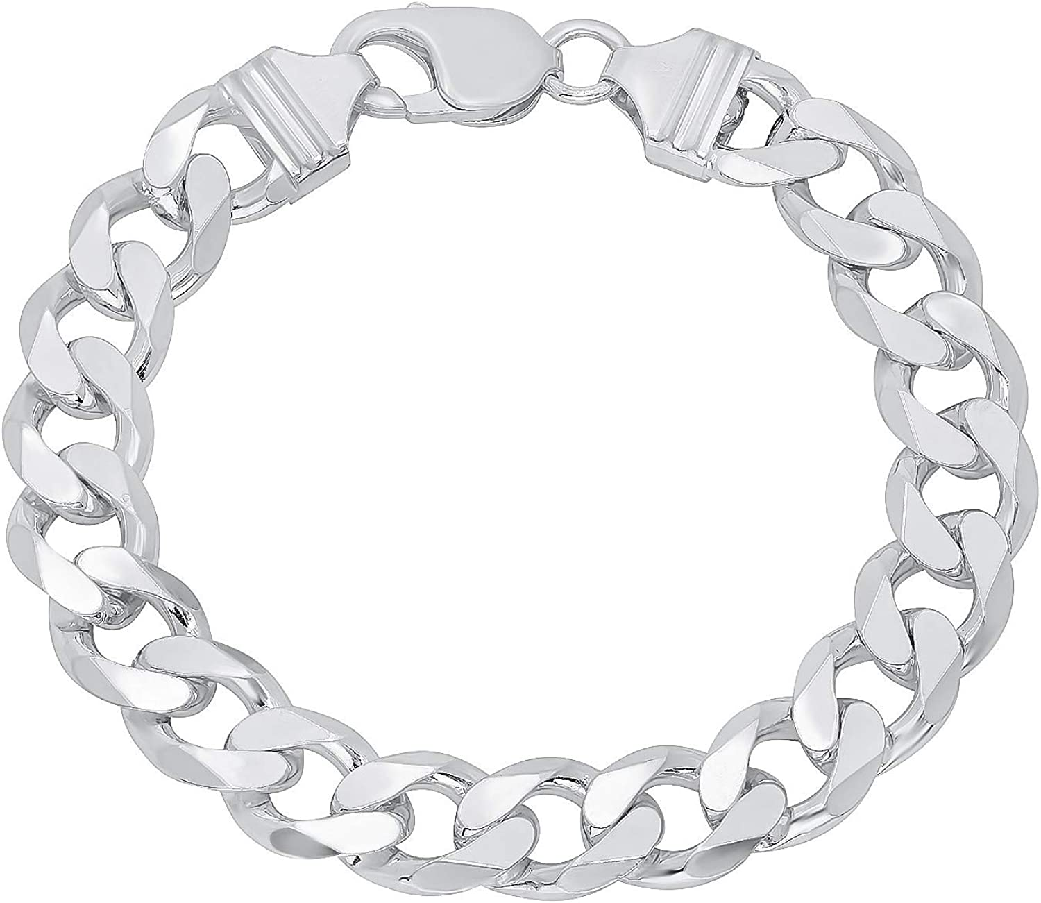 Sterling Silver Sale special price At the price of surprise 925 Solid Curb Cuban Bracelet Chain for Men Link