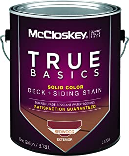 Mccloskey 14203 Stain Solid Ltx Redwood