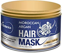 StBotanica Moroccan Argan Hair Mask - Deep Conditioning & Hydration For Healthier Looking Hair - 300ml