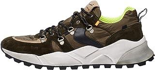 VOILE BLANCHE CLUB10-Sneaker con Occhielli Metallici