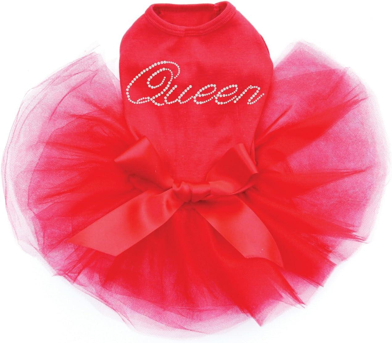 Queen - Dog 4 years warranty Super sale Tutu Red L Dress