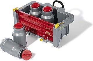 Rolly Toys 408894 rollyBox mit Milchkannen Transportmulde für Trettraktor 3-10 Jahre, Mulde kippbar, Heckklappe ABN.