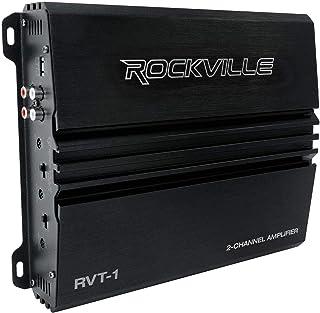 Rockville RVT-1 1000w Peak/250w CEA RMS 2 Channel Car Amplifier Stereo Amp