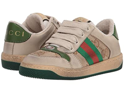 Gucci Kids Screener Sneaker (Toddler) Kid