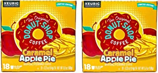 The Original Donut Shop Coffee Caramel Apple Pie K Cups Pods - 36 Keurig KCups Total - Limited Edition