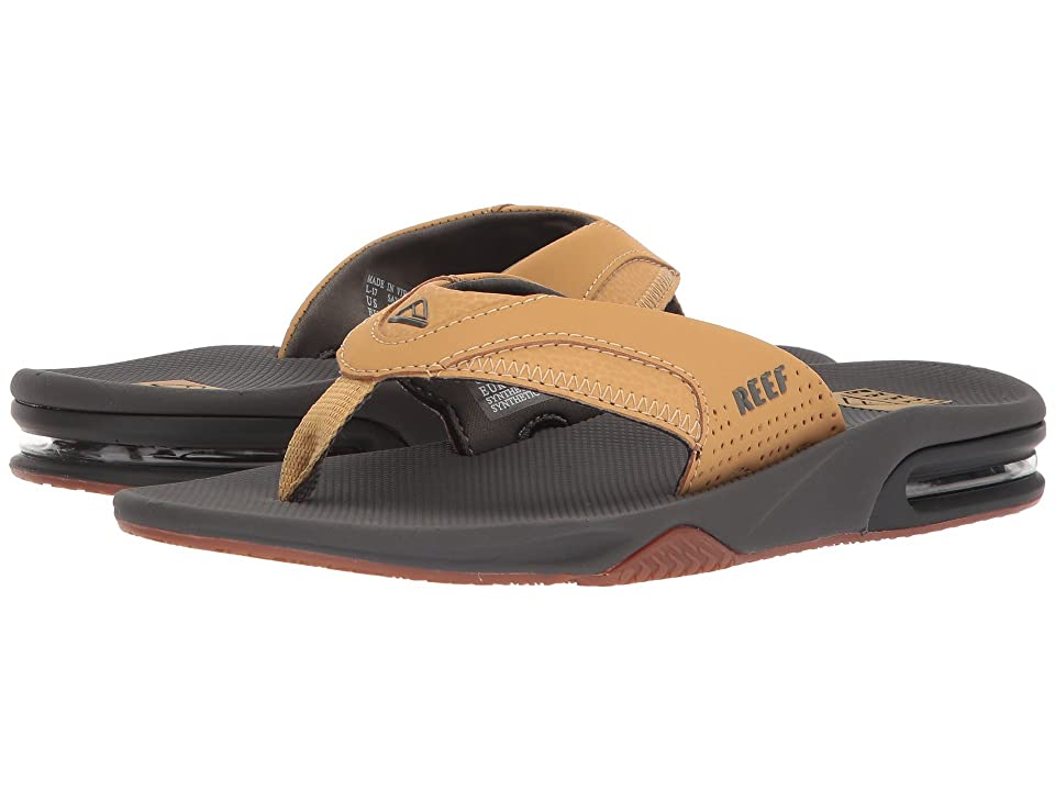 Reef Fanning (Charcoal/Tan) Men