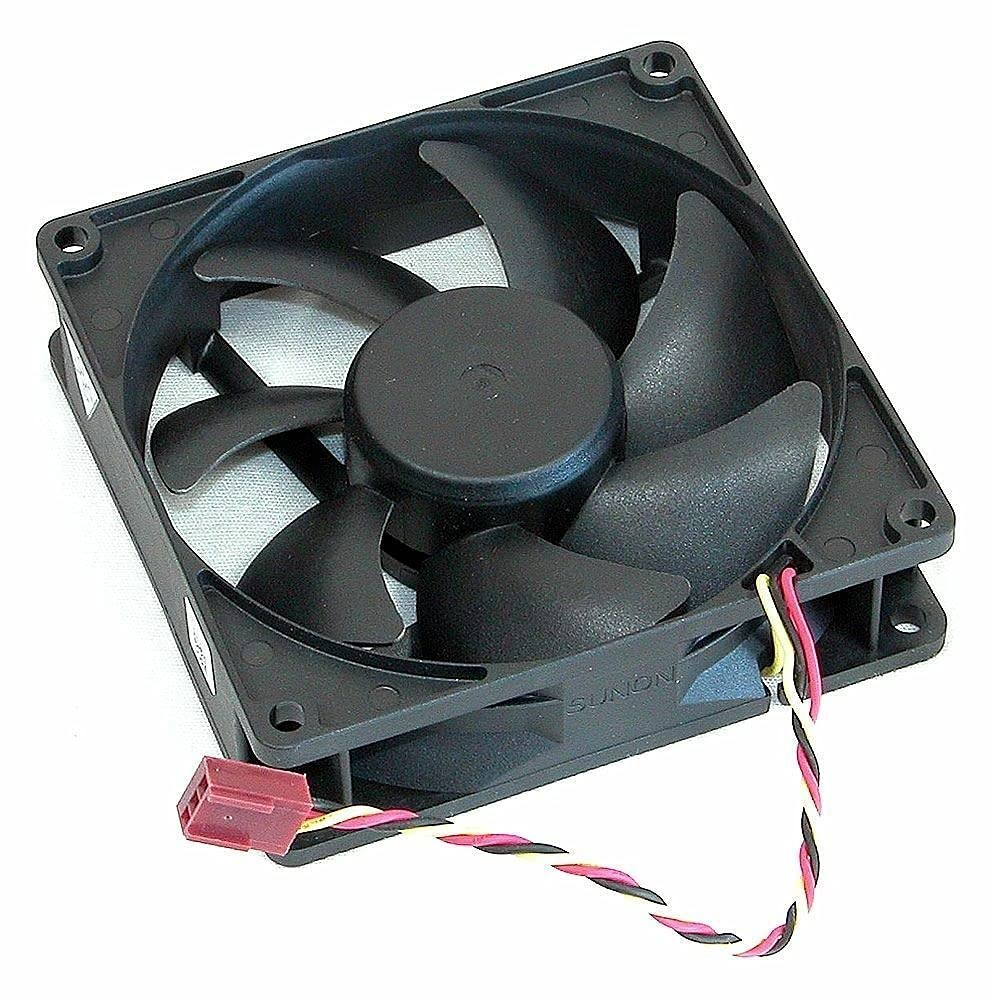 Yesvoo New Case Cooling Fan for Dell Vostro 200 400 Inspiron 530 531 560 3847 8100, P/N: X755M 0X755M Sunon EE92251S3-D020-C99 / Foxconn PVA092G12M, 12V 1.26W 92x92x25mm