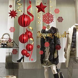 kina CRMS0009 Vitrophanie de Mid Season Sale r/éutilisables d/écorations adh/ésives pour vitrines repositionnables et r/éutilisables /à volont/é