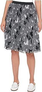 Tommy Hilfiger Women's Pleated Chiffon Skirt