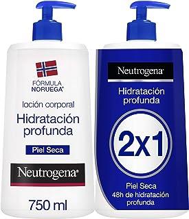 comprar comparacion Neutrogena Loción Corporal Hidratación Profunda, Piel Seca, 2x750ml