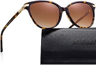 AVAWAY Oversized Women Sunglasses Polarized UV400 Protection Lens Acetate Frame