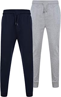 Tokyo Laundry Mens 2 Pack of Sweatshirts Or Joggers Loungewear Essentials