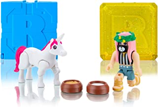 Roblox Celebrity Collection - Club Figure Pack + Two Mystery Figure Bundle [Includes 3 Exclusive Virtual Items]