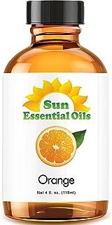 Sweet Orange Essential Oil (Huge 4oz Bottle) Bulk Sweet Orange Oil - 4 Ounce